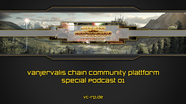 Special Podcast 01 Title